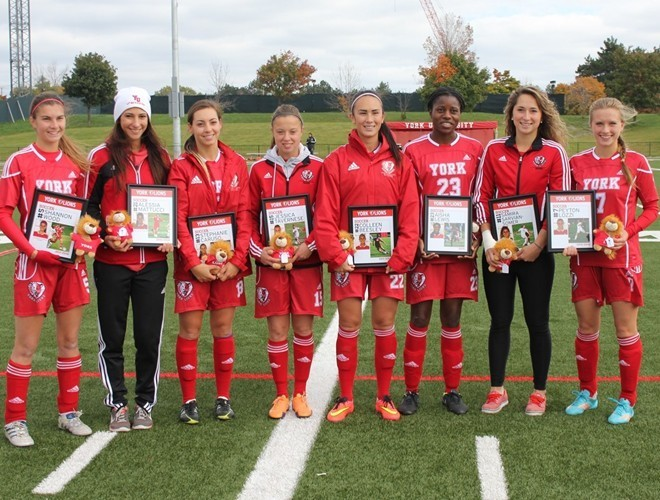 Women's soccer grad players