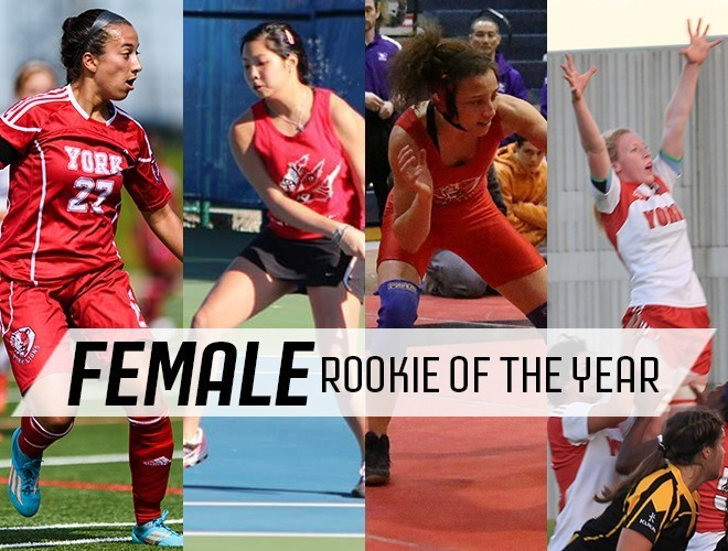 2015 - Nominee Female Rookie