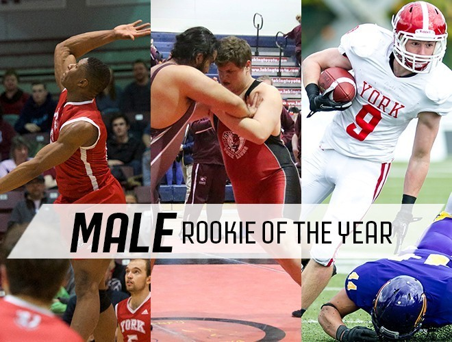 2015 - Nominee Male Rookie