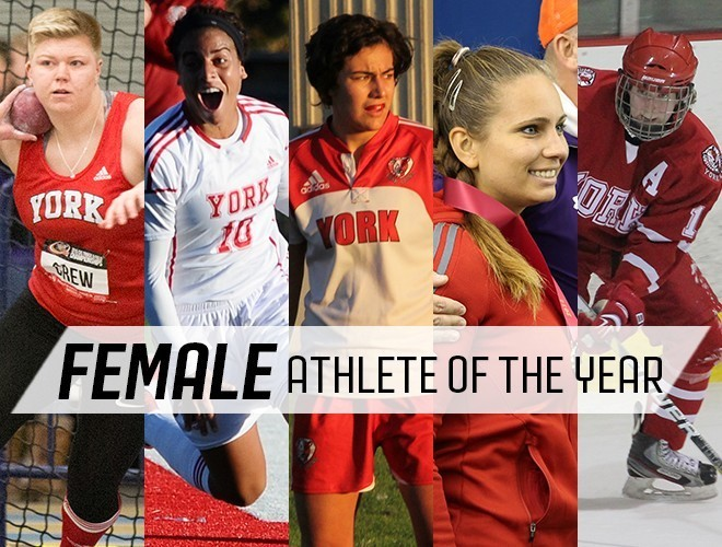 2015 - Nominee  Female athlete