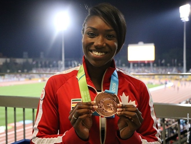 Bingham Pan Am bronze